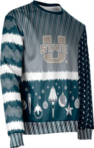 Utah State University: Ugly Holiday Unisex Sweater - Decoration