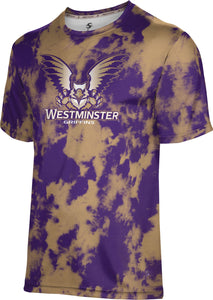 Westminster College: Men's T-Shirt - Grunge