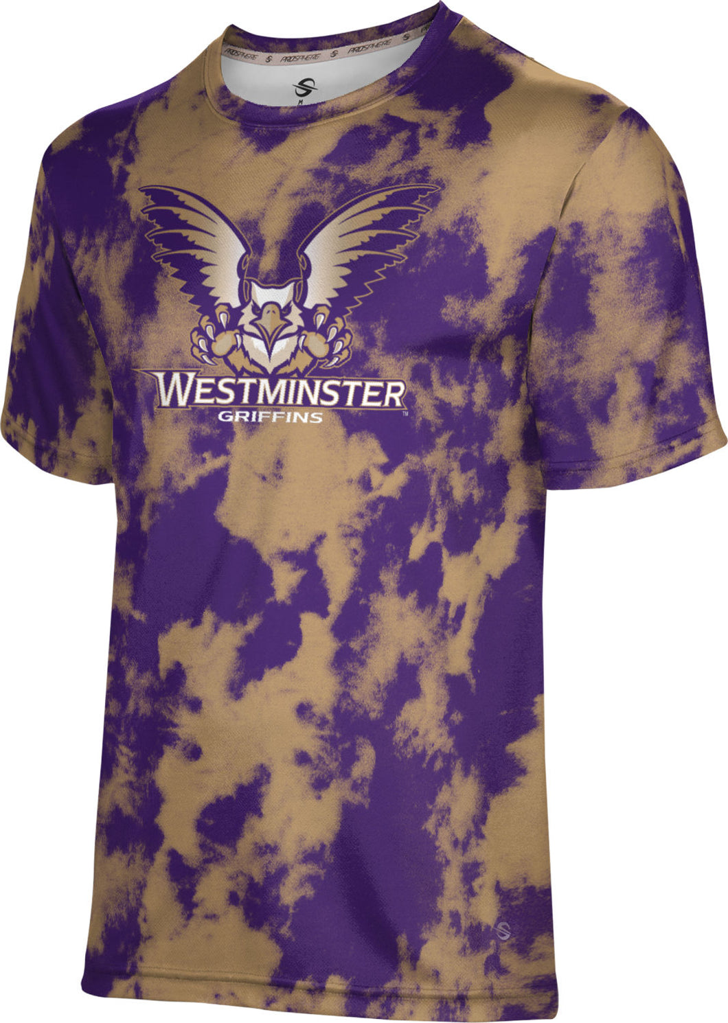 Westminster College: Boys' T-shirt - Grunge