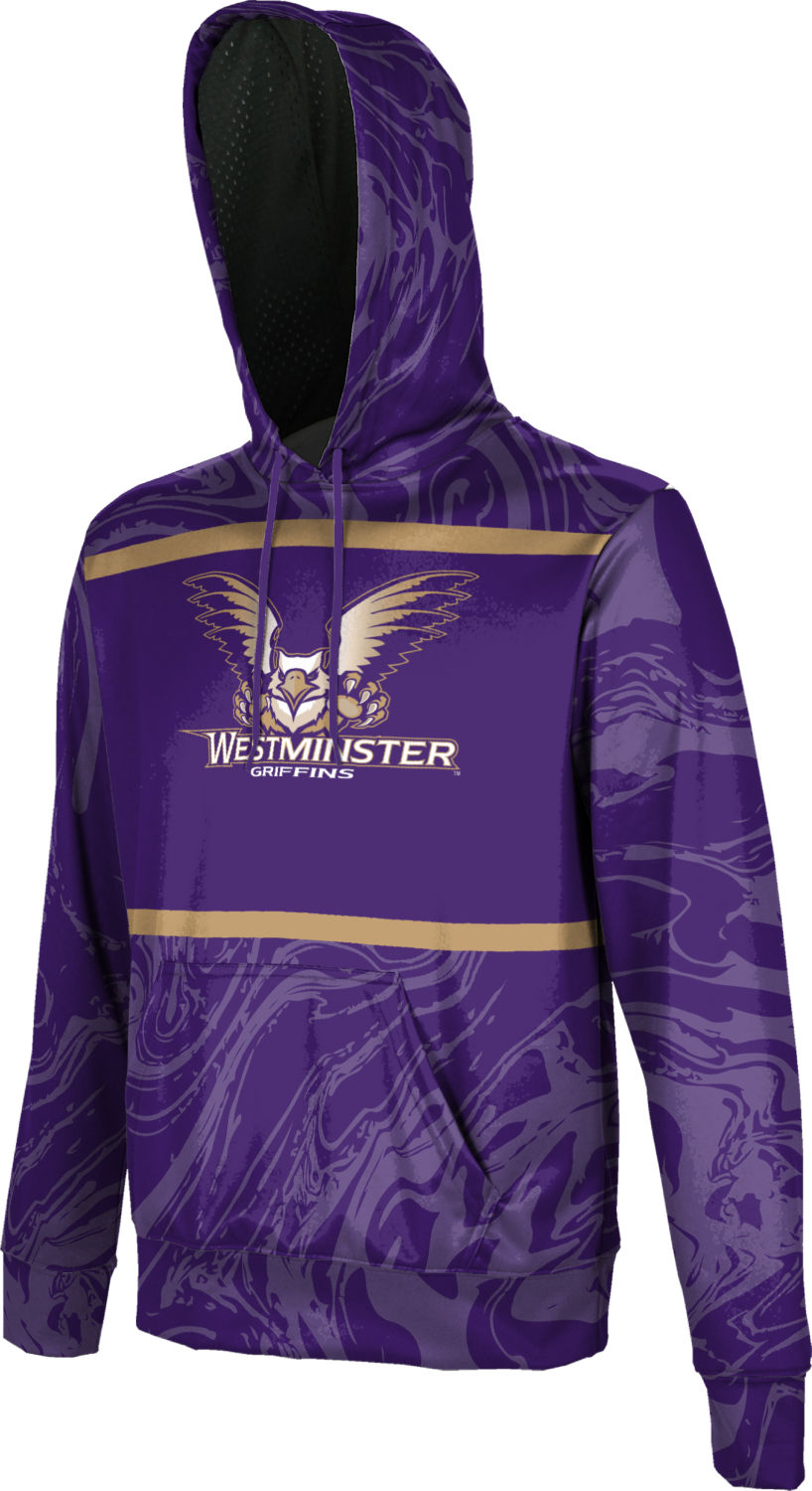 Westminster College: Boys' Pullover Hoodie - Ripple