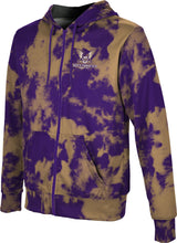 Load image into Gallery viewer, Westminster College: Boys' Full Zip Hoodie - Grunge