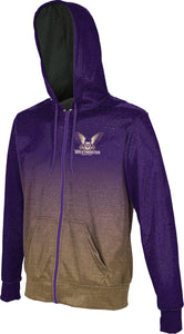 Westminster College: Boys' Full Zip Hoodie - Ombre
