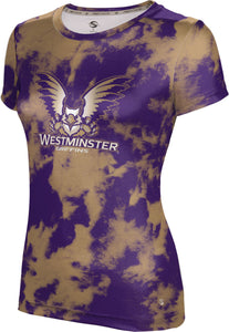 Westminster College: Girls' T-shirt - Grunge