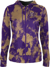 Load image into Gallery viewer, Westminster College: Women's Full Zip Hoodie - Grunge