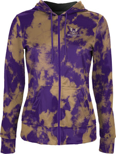 Westminster College: Women's Full Zip Hoodie - Grunge