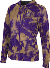Load image into Gallery viewer, Westminster College: Girls' Full Zip Hoodie - Grunge