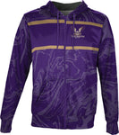Westminster College: Men's Full Zip Hoodie - Ripple