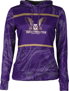 Westminster College: Girls' Pullover Hoodie - Ripple