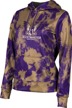 Load image into Gallery viewer, Westminster College: Girls' Pullover Hoodie - Grunge