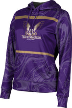 Load image into Gallery viewer, Westminster College: Women's Pullover Hoodie - Ripple