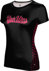 University of Utah: Girls' T-shirt - Geometric
