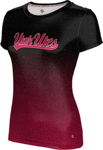 University of Utah: Women's T-shirt - Gradient