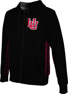 University of Utah: Boys' Full Zip Hoodie - Geo