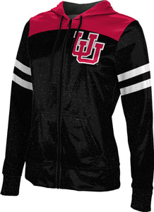 University of Utah: Girls' Full Zip Hoodie - Game Time