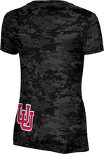 Load image into Gallery viewer, University of Utah: Women's T-shirt - Digi Camo