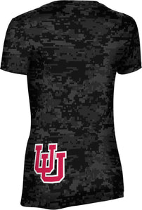 University of Utah: Women's T-shirt - Digi Camo