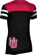 Load image into Gallery viewer, University of Utah: Women's T-shirt - Game Time
