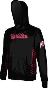 University of Utah Men's Pullover Hoodie - Geo