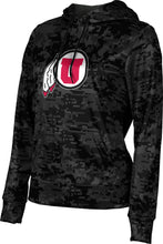 Load image into Gallery viewer, University of Utah: Women's Pullover Hoodie - Geometric