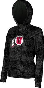 University of Utah: Women's Pullover Hoodie - Geometric