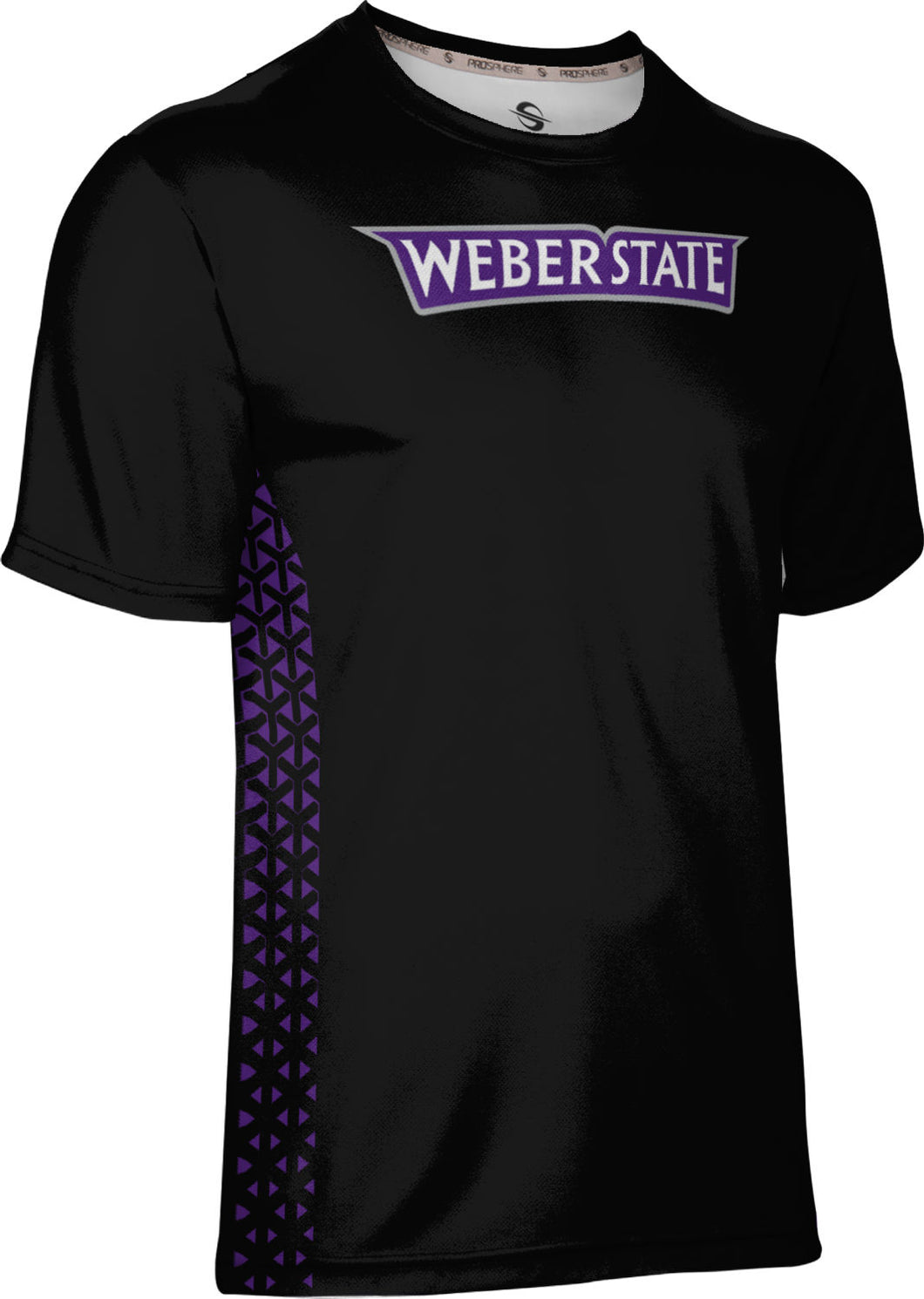 Weber State University: Men's T-shirt - Geometric