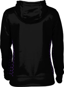 Weber State University: Women's Full Zip Hoodie - Geometric
