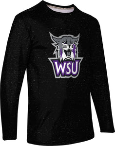 Weber State University: Men's Long Sleeve Tee - Heathered