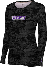 Load image into Gallery viewer, Weber State University: Women's Long Sleeve Tee - Digital