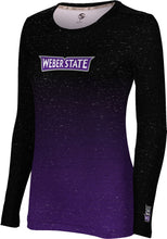 Load image into Gallery viewer, Weber State University: Women's Long Sleeve Tee - Ombre