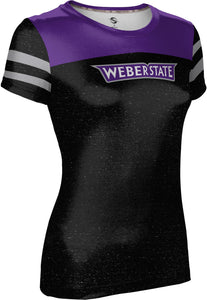 Weber State University: Women's T-shirt - Game time