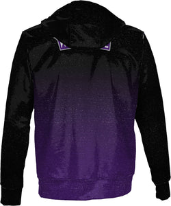 Weber State University: Men's Full Zip Hoodie - Gradient