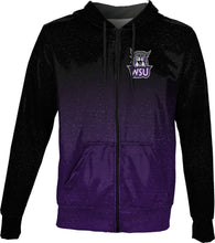Load image into Gallery viewer, Weber State University: Men's Full Zip Hoodie - Gradient
