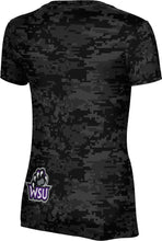 Load image into Gallery viewer, Weber State University: Women's T-shirt - Digi Camo