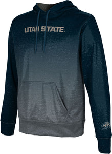 Utah State University: Men's Pullover Hoodie - Gradient