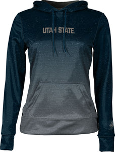 Utah State University: Women's Pullover Hoodie - Ombre