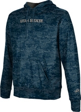 Load image into Gallery viewer, Utah State University: Boys' Pullover Hoodie - Digital