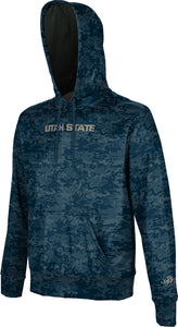 Utah State University: Boys' Pullover Hoodie - Digital
