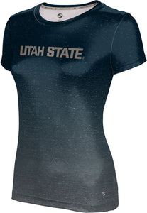Utah State University: Women's T-shirt - Ombre