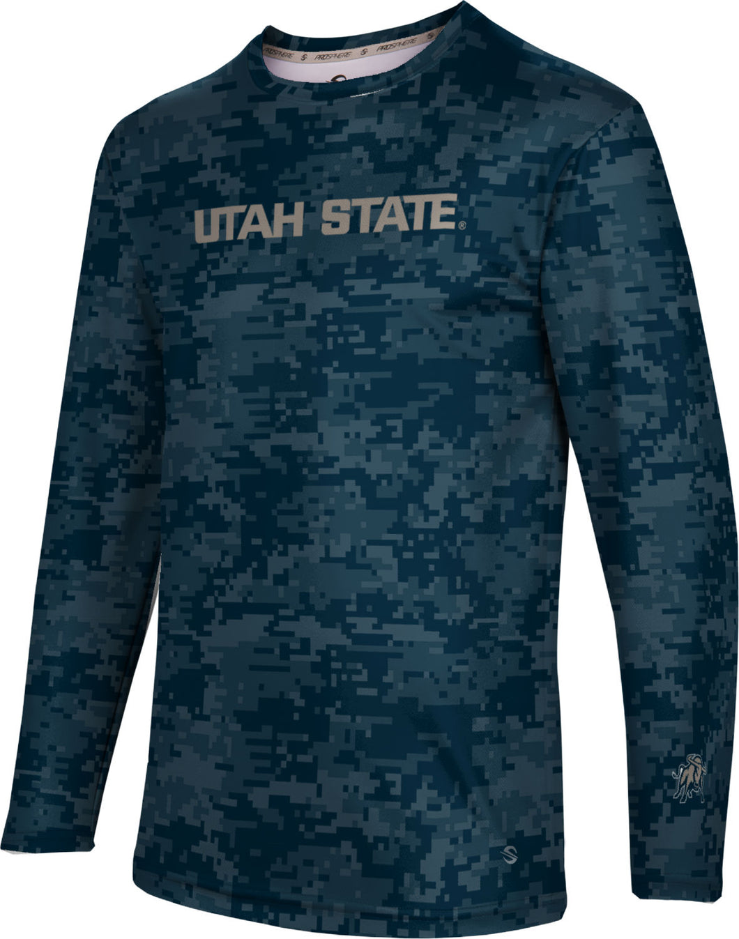 Utah State University: Men's Long Sleeve Tee - Digital