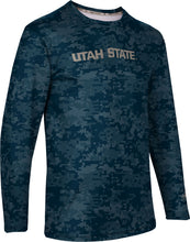 Load image into Gallery viewer, Utah State University: Men's Long Sleeve Tee - Digital
