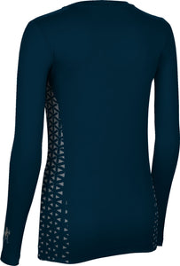 Utah State University: Women's Long Sleeve Tee - Geometric