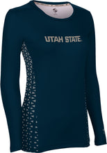 Load image into Gallery viewer, Utah State University: Women's Long Sleeve Tee - Geometric
