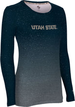 Load image into Gallery viewer, Utah State University: Women's Long Sleeve Tee - Ombre