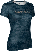 Load image into Gallery viewer, Utah State University: Women's T-shirt - Digital