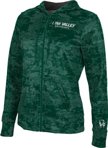 Utah Valley University: Women's Full Zip Hoodie - Digital