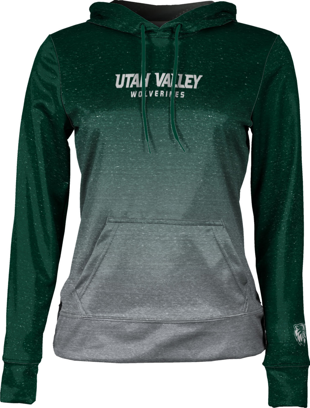 Utah Valley University: Women's Pullover Hoodie - Gradient