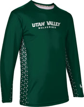 Load image into Gallery viewer, Utah Valley University: Men's Long Sleeve Tee - Geo