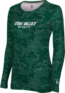 Utah Valley University: Women's Long Sleeve Tee - Digital