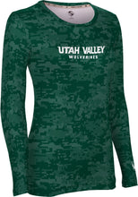 Load image into Gallery viewer, Utah Valley University: Women's Long Sleeve Tee - Digital