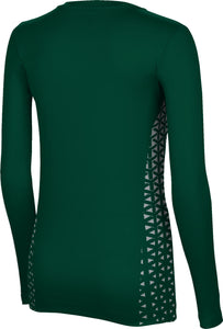 Utah Valley University: Women's Long Sleeve Tee - Geo